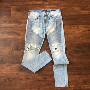 Pacsun Moto Skinny Fit Denim